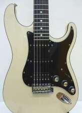 Used! Fender Japan Aerodyne Stratocaster Guitar AST-M Medium Scale Vintage White