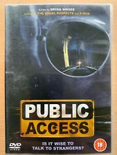 Public Access DVD 1993 Small Town Noir Thriller Classic Film Movie