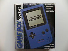 NINTENDO  GAME BOY - POCKET BLUE (BOXED)