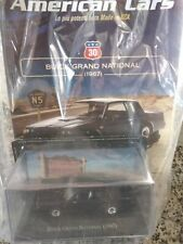 BUICK GRAND NATIONAL 1987 AMERICAN CARS C. #30 MIB DIE-CAST 1:43