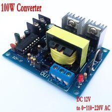 DC-AC Converter 12V to 110V 220V AC 100W Inverter Boost Board Transformer Power