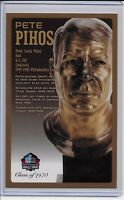 Pete Pihos Pro Football Hall of Fame Bronze Bust Card 100/150