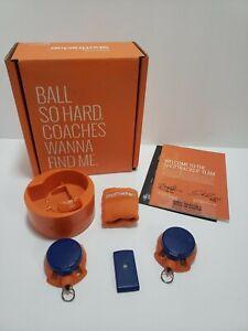 ShotTracker Basketball Tracker for Shooting Armband 2 Net sensors Charger