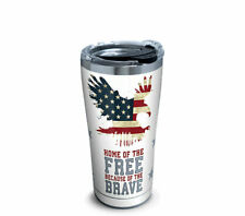 Tervis Tumbler 20 oz Home of the Free Military Stainless Steel