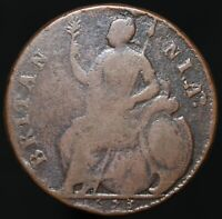1673 | Charles I Half-Penny | Copper | Coins | KM Coins
