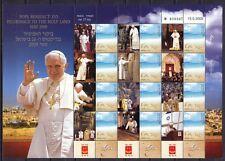 Israel 2009 Bogen ** MNH Besuch Papst Pope Benedikt XVI. in Israel