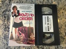 MAID TO ORDER RARE VHS! HTF ON DVD ALLY SHEEDY RICH BRAT BECOMES MAID OOP COMEDY