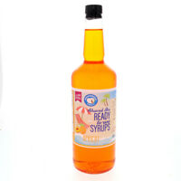 Hawaiian Shaved Ice or Snow Cone Syrup, Ready to Use, Apricot (32 Fl. Oz)