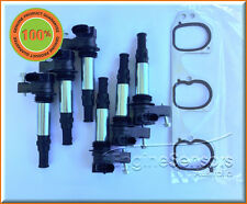 *NEW GENUINE BOSCH IGNITION COIL SET WITH GASKET SUIT COMMODORE VZ V6 ALLOYTEC
