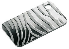 icOns SKINS Stylish Silver Bar ZEBRA with hanger - SUISSE-PAMP