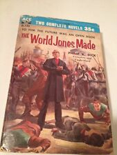 PHILIP K DICK @ THE WORLD JONES MADE 1st Ed. Ace Double 1956 Very Good!