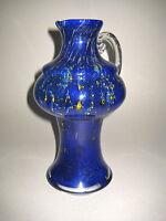 Glas Vase WMF Straussenmarke  Glaskrug 60er Jahre  60is Design