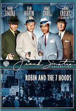 1964 Robin and the Seven Hoods Sinatra Martin Crosby Davis Crime Musical NEW DVD