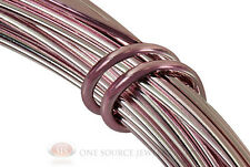 39 Ft. Rose Aluminum Craft Wire 12 Gauge Jewelry Making Beading Wrapping