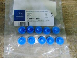 Brand New Rear Roller Blind Clamp Set of 10 PCS Genuine Mercedes - A0009912171