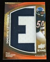 Authentic Football Card Mike Singletary Chicago Bears