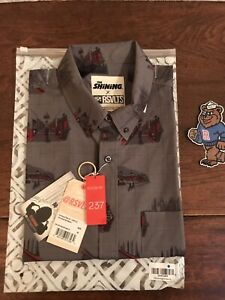 BRAND NEW THE SHINING SHINE ON RSVLTS SHIRT Limited Edition Medium M Mens Button