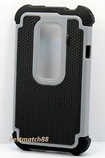 for htc evo 3d g17 HTC EVO 3D / G17 rugged hybrid hard pc rubber case 3 layers/