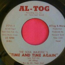 "SOUL MAJESTICS ""Time And Time Again"" (Al-Tog) Rare 7"" Northern Soul"
