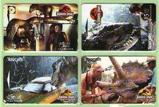 New Zealand - 1995 Jurassic Park Set (4)  - NZ-A-21/24 - Mint - #140047
