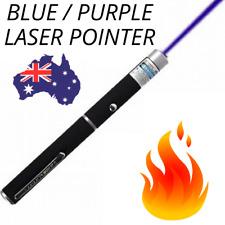 🔥 Blue PREMIUM LASER POINTER 405nm Purple 1mW Lazer Beam HIGH Power Pen Cat Toy