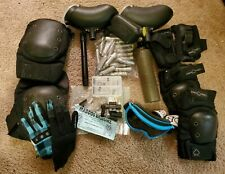 Lot Paintball Accessories Pads/Hoppers/Protective Clothing/CO2 Canisters