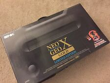 SNK Playmore Neo Geo X Gold Limited Edition Black Console