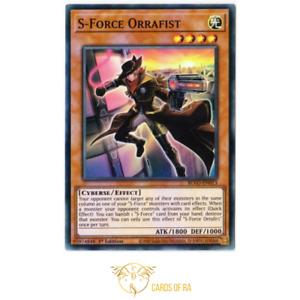 YuGiOh! | S-Force Orrafist | BLVO-EN013 | Super Rare 1st Edition
