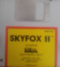 Skyfox II (Commodore Amiga Diskette) (Electronic Arts 1988)