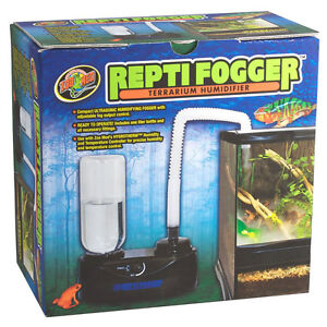 Zoo Med Repti-Fogger Mist / Rain system for frog terrarium to increase humidity