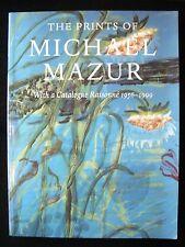PRINTS OF MICHAEL MAZUR Catalogue Raisonne 2000 T.Hansen + Essays [1st Ed] NF PB