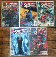 Superman Unchained #1-4,7 **FIVE ISSUE LOT** (DC 2013) Limited Series - Snyder