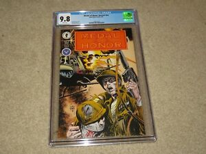 Medal Of Honor Special CGC 9.8 1994 Dark Horse White Pages
