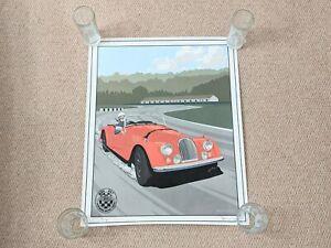 Morgan Cars MOG 007 Ben Hooley Rare Ltd Edition Color Print 8/300 62cm x 50cm