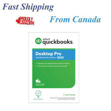 QuickBooks Desktop Pro 2020, 1-User License, English