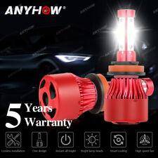 H11 4-Sided LED Headlight 6000K White 2350W 352500LM Low Beam Bulb High Power