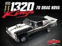 """1:18 Gmp 1970 Chevrolet Nova """"1320 Kings"""" Diecast Drag Car"""