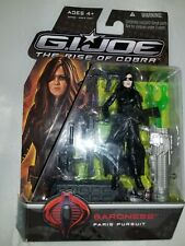 Gi Joe the rise of cobra Paris pursuit baroness Figure