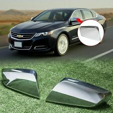 For 2014-2019 2020 Chevy Impala Chrome Triple Mirror Covers Overlays Trims