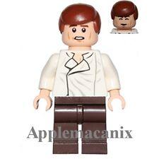 NEW LEGO  75137 Carbonite Freezing 2016 WHITE SHIRT HAN SOLO Minifigure Figure