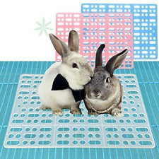 Rubyhome 2 Pieces Rabbit Mats for Cages Rabbit Guinea Pig Hamster and Other Cage