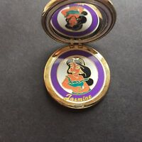 WDW Sparkle Compact Series Jasmine Very RARE and Hard to Find Disney Pin 45442