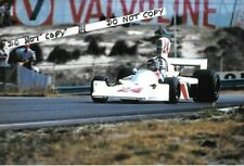 9x6 Photograph, James Hunt ,  F1 Hesketh 308 , Dutch GP  Zandvoort 1975