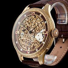 GIRARD-PERREGAUX Men's Skeleton Wristwatch Swiss Vintage Mechanical Movement 17J