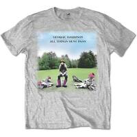 OFFICIAL LICENSED - GEORGE HARRISON - ALL THINGS MUST PASS T SHIRT BEATLES