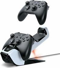 Bionik Power Stand Controllers Charger w/ 2 Rechargeable Batteries for Xbox One