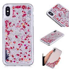 Luxury Slim Glitter Liquid Quicksand Mirror Soft TPU Case Cover For Various