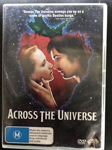 Across The Universe DVD 2 Disc Set Region 4