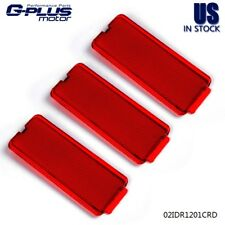 Ford Crown Victoria Taurus Interior Inner Door Panel Red Reflector Set OEM NEW
