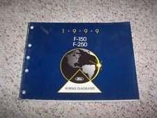 1999 Ford F150 Electrical Wiring Diagram Manual Work XL XLT Lariat V6 V8 4.2L
